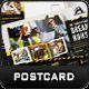Construction Postcard Templates - GraphicRiver Item for Sale