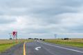 End of dual carriageway road sign on road N5 - PhotoDune Item for Sale