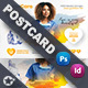 Home Care Postcard Templates - GraphicRiver Item for Sale
