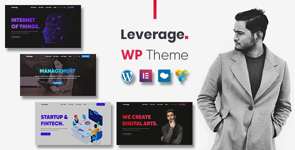 Photo of Leverage – Agency, Portfolio WordPress Theme Full Download