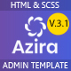 Azira -  Admin Dashboard HTML Template - ThemeForest Item for Sale