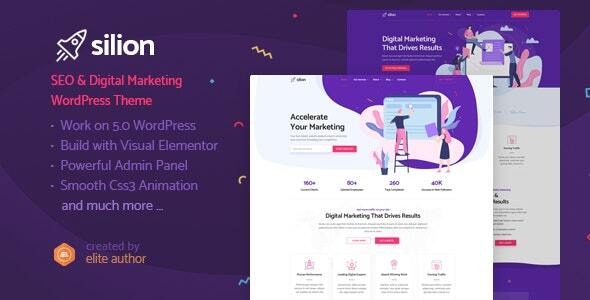 Silion - Digital Marketing WordPress Theme