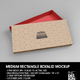 Medium Rectangular Paper Box and Lid Packaging Mockup - GraphicRiver Item for Sale
