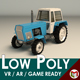 Low Poly Tractor 02 - 3DOcean Item for Sale