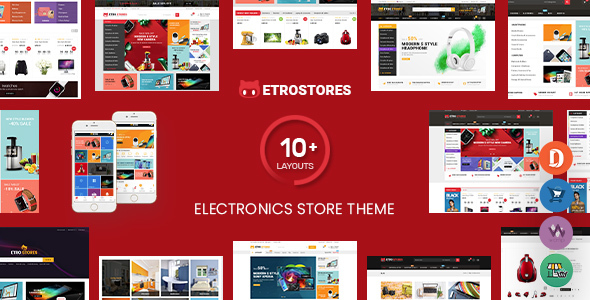 EtroStore - Electronics Store WooCommerce WordPress Theme (Mobile Layouts Ready)