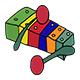 Cartoon Xylophone Kids