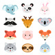 Animal Heads Illustrations Set - GraphicRiver Item for Sale