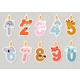 Vector Illustration of Animal Candles - GraphicRiver Item for Sale