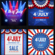 4th of July  / Memorial Day Banners - GraphicRiver Item for Sale