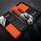 Minimal Dark Creative Business Card - GraphicRiver Item for Sale