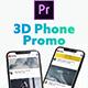 3D Smartphone Presentation for Premiere Pro - VideoHive Item for Sale