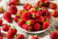 Raw Red Organic Strawberries - PhotoDune Item for Sale