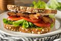 Homemade Bacon Lettuce Tomato BLT Sandwich - PhotoDune Item for Sale