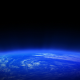 Space Panorama Earth Shine  - VideoHive Item for Sale
