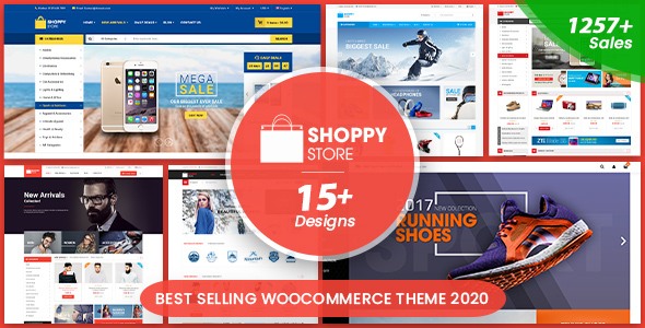 ShoppyStore - Multipurpose Responsive WooCommerce WordPress Theme (15+ Homepages & 3 Mobile Layouts)