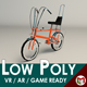 Low Poly Chopper Bike - 3DOcean Item for Sale
