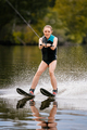 beautiful woman on water skiing - PhotoDune Item for Sale