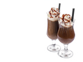 Ice coffee on white background - PhotoDune Item for Sale