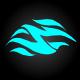 Fire Whoosh Logo