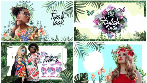 Nature Spring Fashion Summer Intro