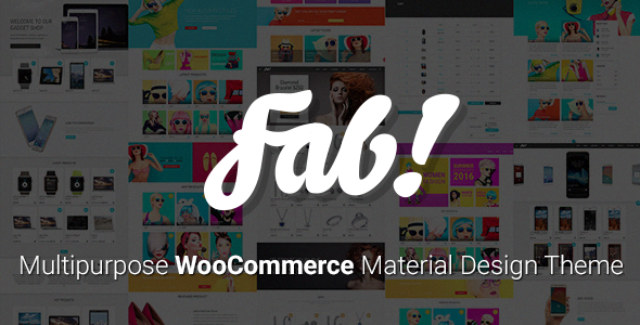 FAB! - Material Design WooCommerce WordPress Theme