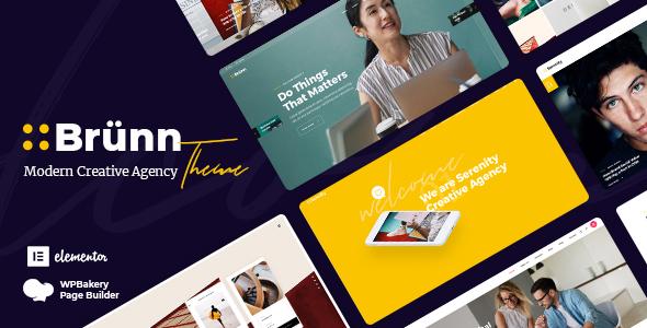 Brünn - Creative Agency Theme