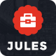 Jules - Personal Portfolio Template - ThemeForest Item for Sale