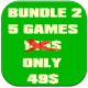 5 games - Bundle 2 - CodeCanyon Item for Sale