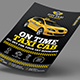Taxi/Cab Flyer Templates - GraphicRiver Item for Sale