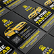 Taxi Cab Business Card - GraphicRiver Item for Sale