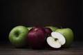 Red and Green Apples Still Life - PhotoDune Item for Sale