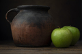Granny Smith Apples and Jug - PhotoDune Item for Sale