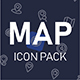 Map and location icon pack - GraphicRiver Item for Sale