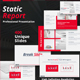 Static Report Powerpoint Template - GraphicRiver Item for Sale