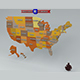 USA Map - 3DOcean Item for Sale
