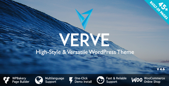 Verve - High-Style WordPress Theme