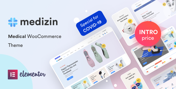 Medizin – Medical Elementor WooCommerce Theme Preview