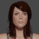 Woman low poly Ready for games  Adele 3D Model - 3DOcean Item for Sale