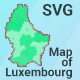 Map of Luxembourg - CodeCanyon Item for Sale
