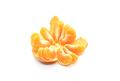 Tasty tangerine slices, isolated on white background - PhotoDune Item for Sale