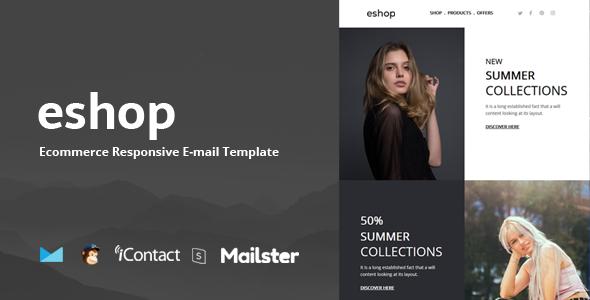 Eshop Mail - Responsive E-mail Template + Online Access