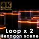 Hexagon Scene - VideoHive Item for Sale
