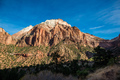 Mountain road in Zion National Park in the fall - PhotoDune Item for Sale