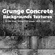 Grunge Gray Concrete Backgrounds Textures - GraphicRiver Item for Sale