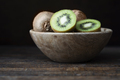 Kiwis in Wooden Bowl - PhotoDune Item for Sale