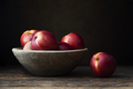 Fresh Nectarines in Bowl - PhotoDune Item for Sale