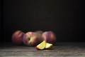 Two Nectarine Wedges - PhotoDune Item for Sale