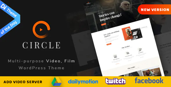 Circle - Filmmakers & Movie Studios WordPress theme