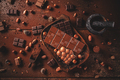 Dark chocolate chunks - PhotoDune Item for Sale