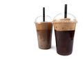 Frappe coffee on white background - PhotoDune Item for Sale
